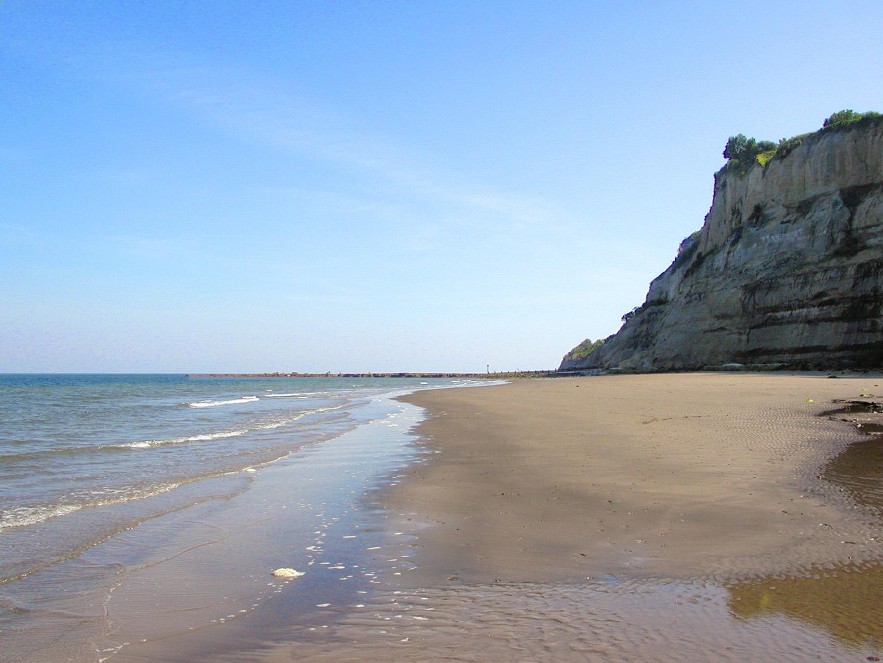 Luccombe Beach